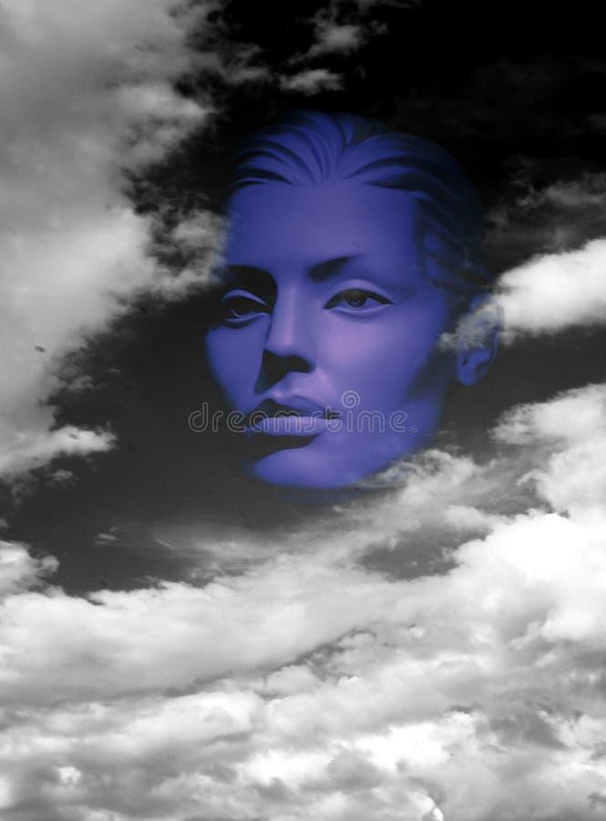 Żeński portret rodzajowy mannequin zdjęcie stock