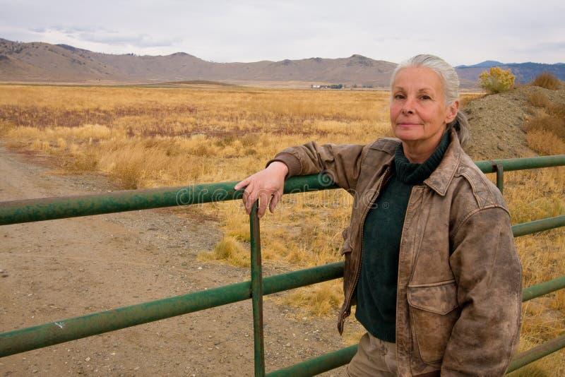 żeński ranczer zdjęcie stock