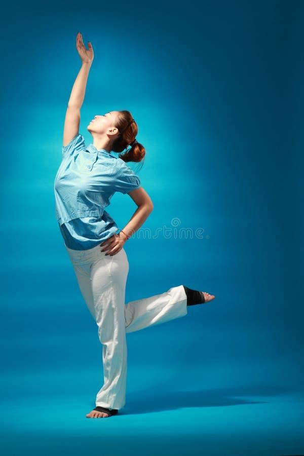 Żeński tancerz obraz stock