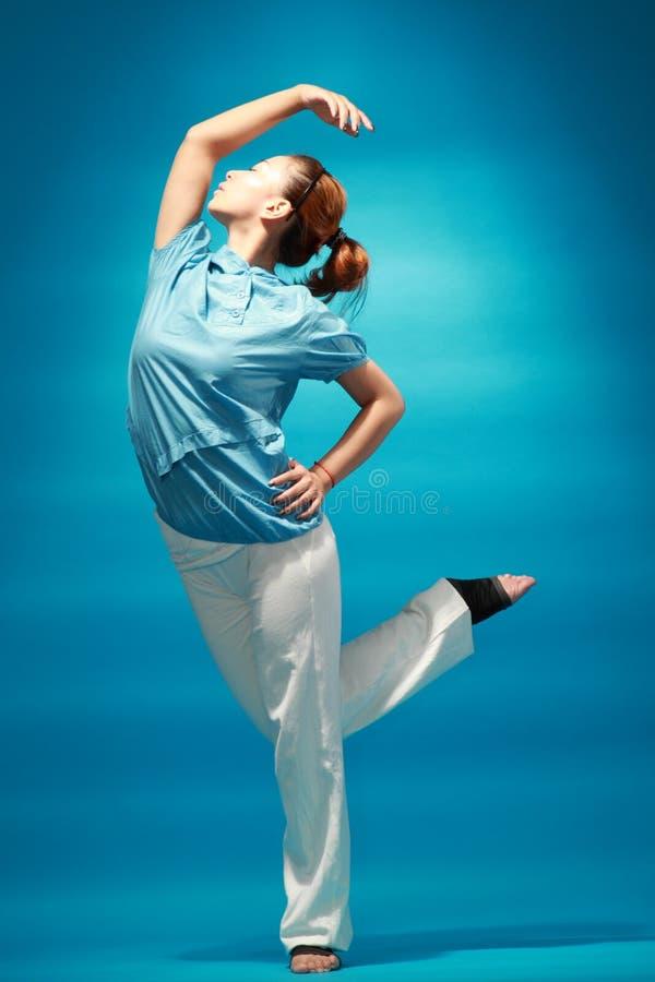 Żeński tancerz zdjęcie stock
