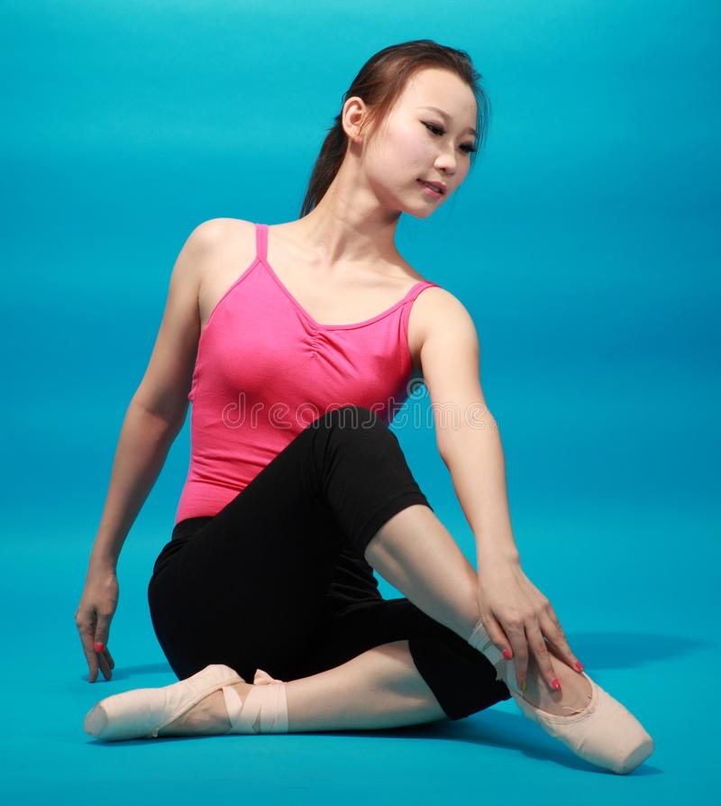 Żeński tancerz zdjęcia stock