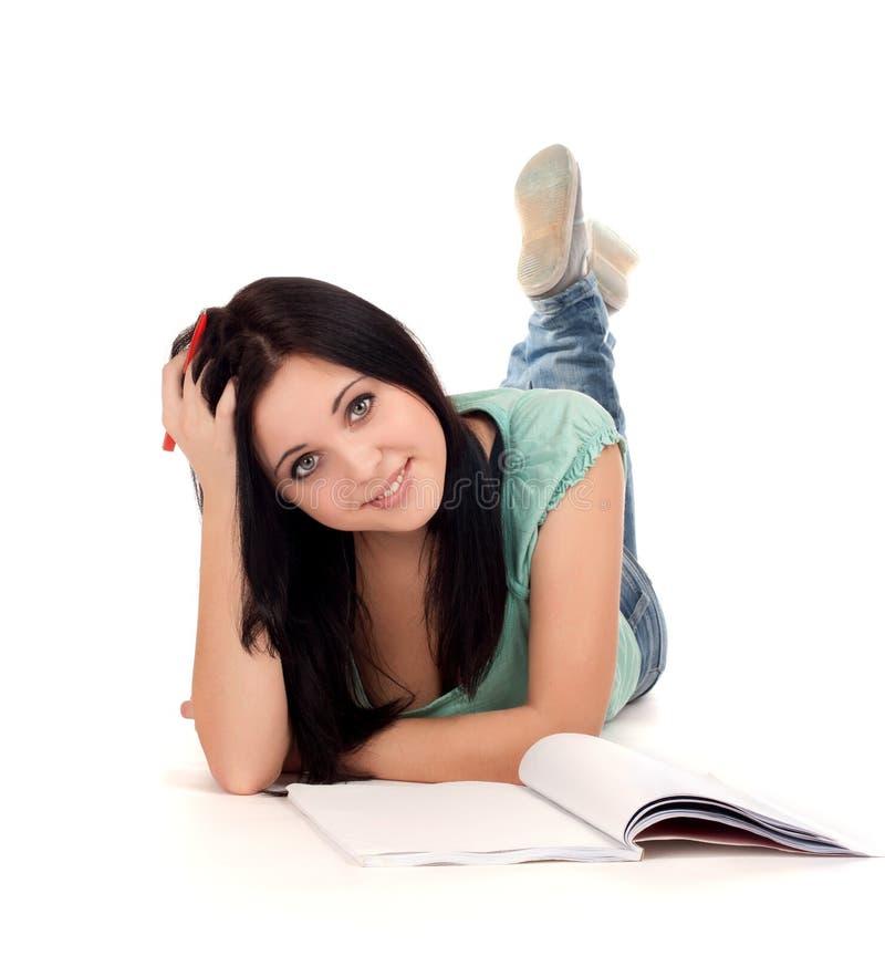 Download Żeński uczeń zdjęcie stock. Obraz złożonej z smiling - 28959702