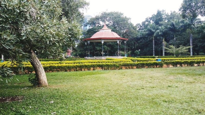 Że Bangalore Lalbagh ogródu set zdjęcia stock
