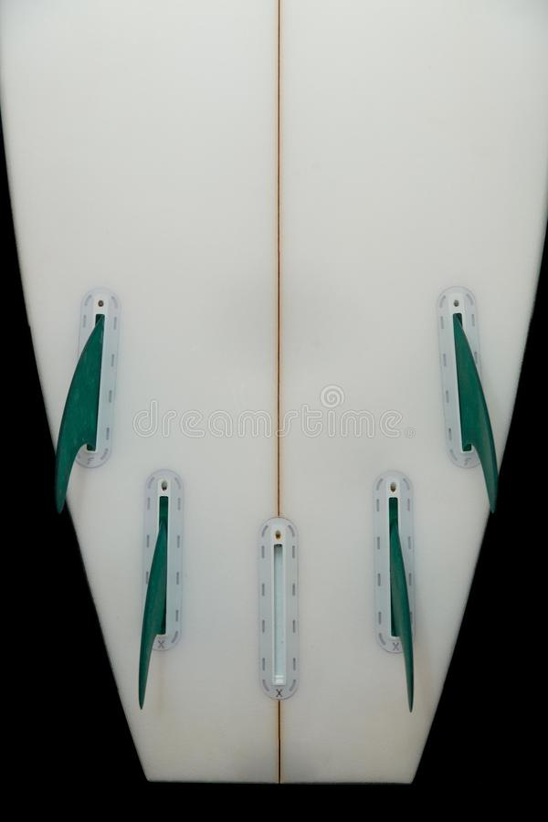 5 żeber surfboard fotografia stock