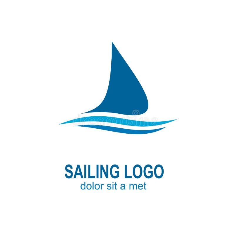 Żeglowanie logo royalty ilustracja