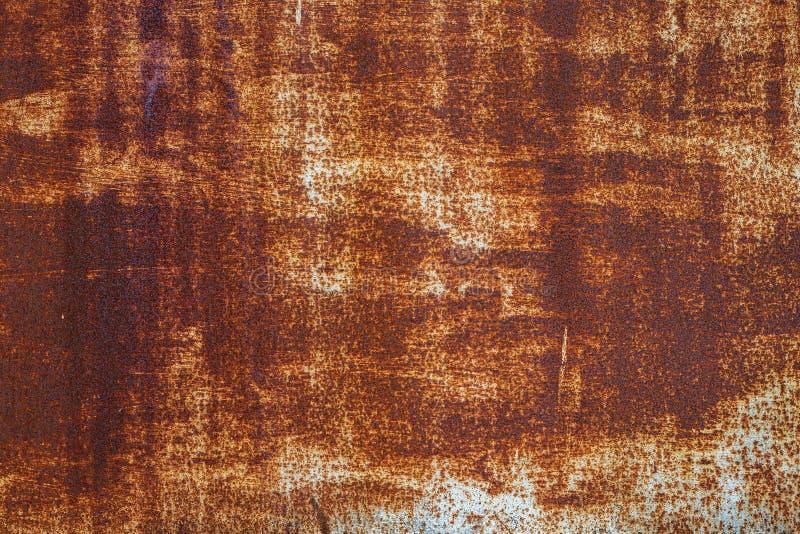 żelazna ośniedziała tekstura zdjęcie stock