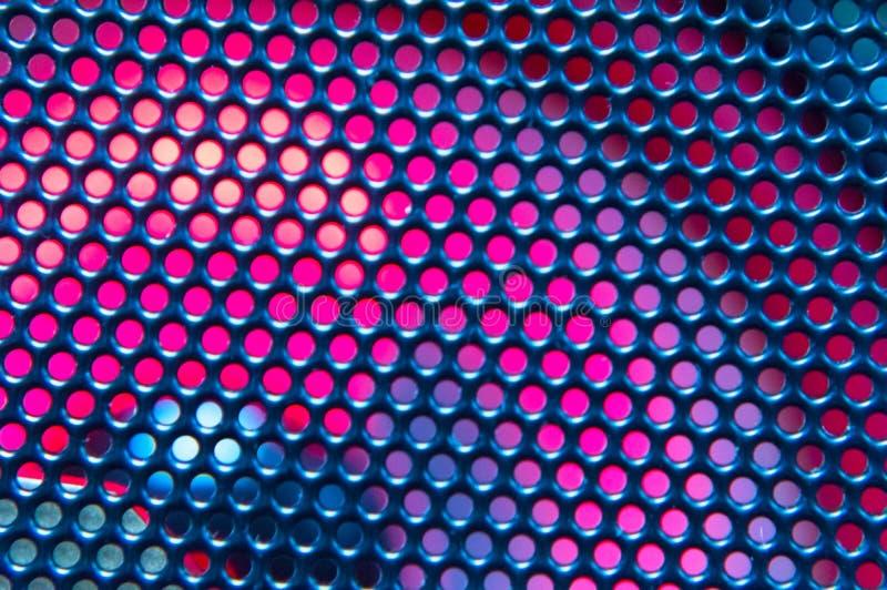 Żelazna siatka z backlight może używać jako tło obrazy stock