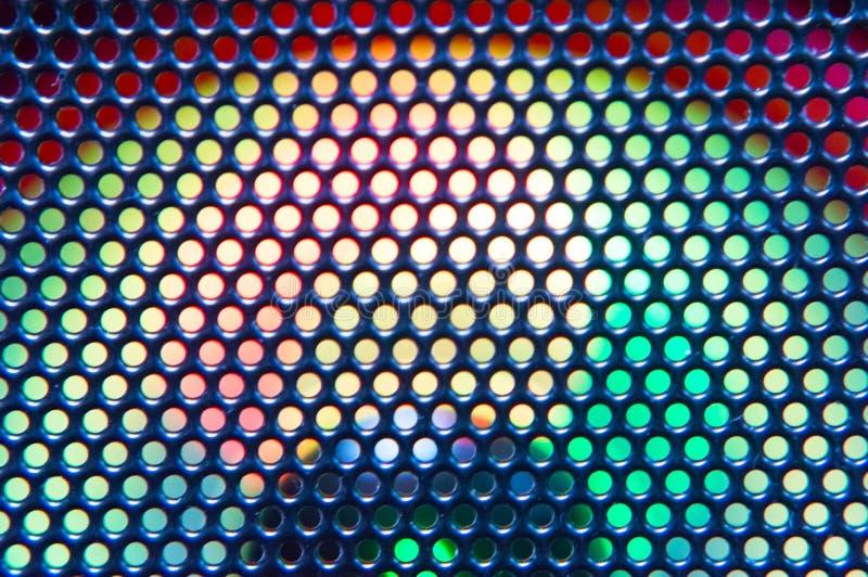 Żelazna siatka z backlight może używać jako tło obrazy royalty free