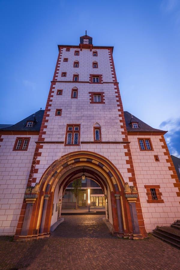 Å»elazna wieża w Moguncji zdjęcie royalty free