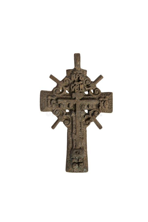 żelazny krzyż stary obrazy royalty free