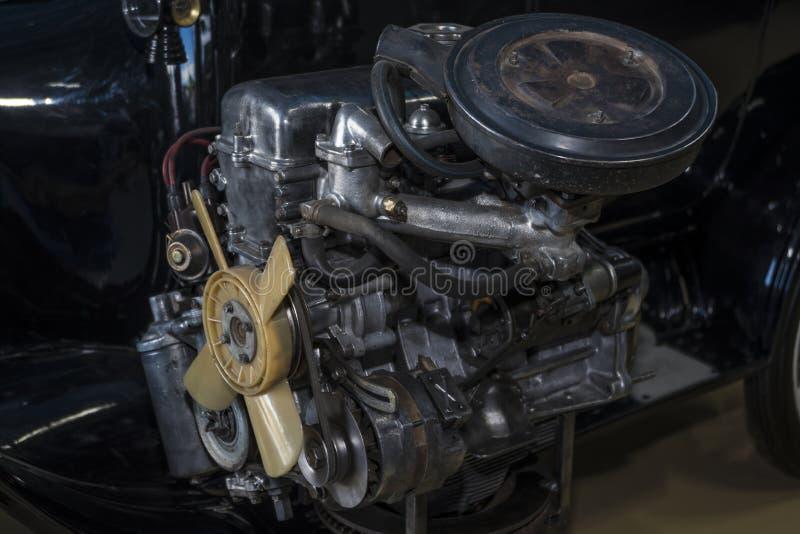 Żelazny mechanizm silnik od samochodu fotografia stock
