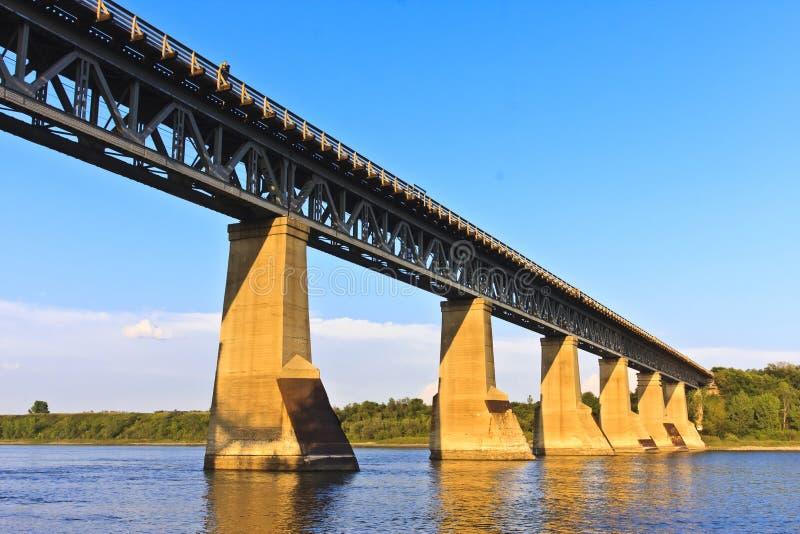 żelazo bridżowy pociąg obraz royalty free