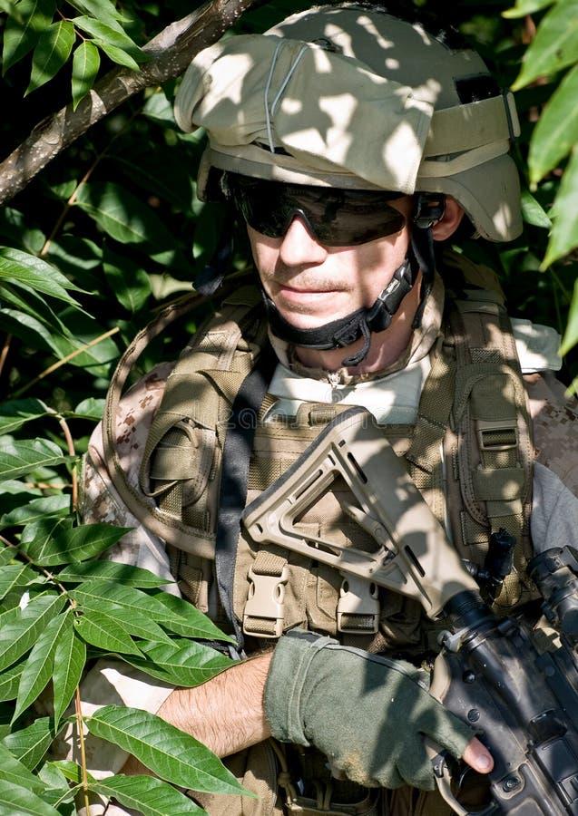 żołnierz fotografia stock