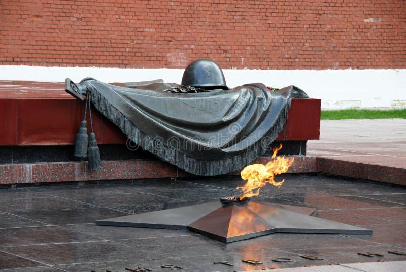 żołnierza grobowa nieznane zdjęcie stock