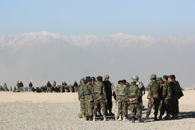 żołnierza szkolenie obrazy stock