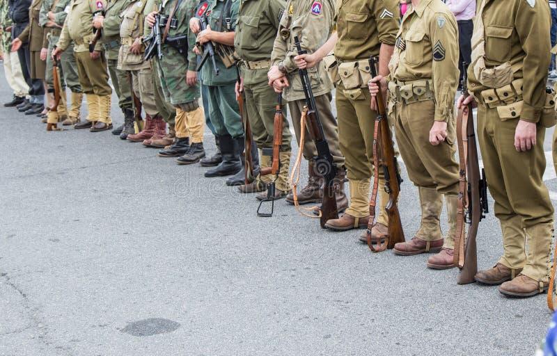 żołnierze obrazy royalty free