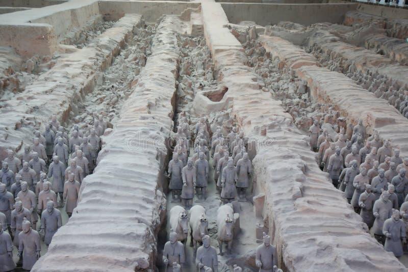 żołnierze Xian obrazy stock