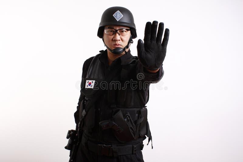 żołnierzy koreańscy południe obraz stock