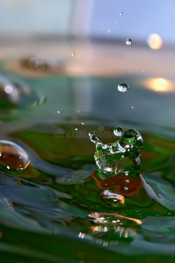 żonglerem wody fotografia stock