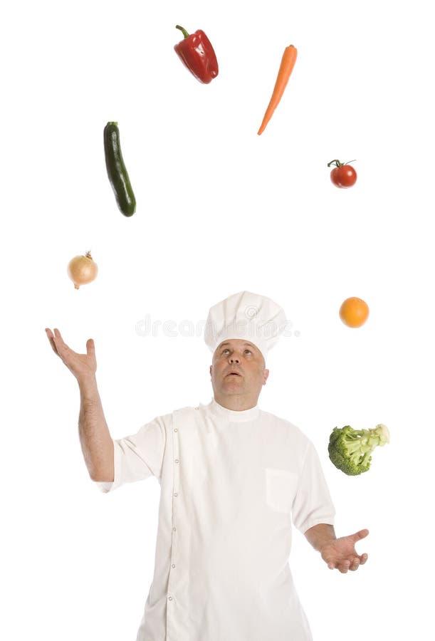Żonglować Zdrową dietę zdjęcia stock