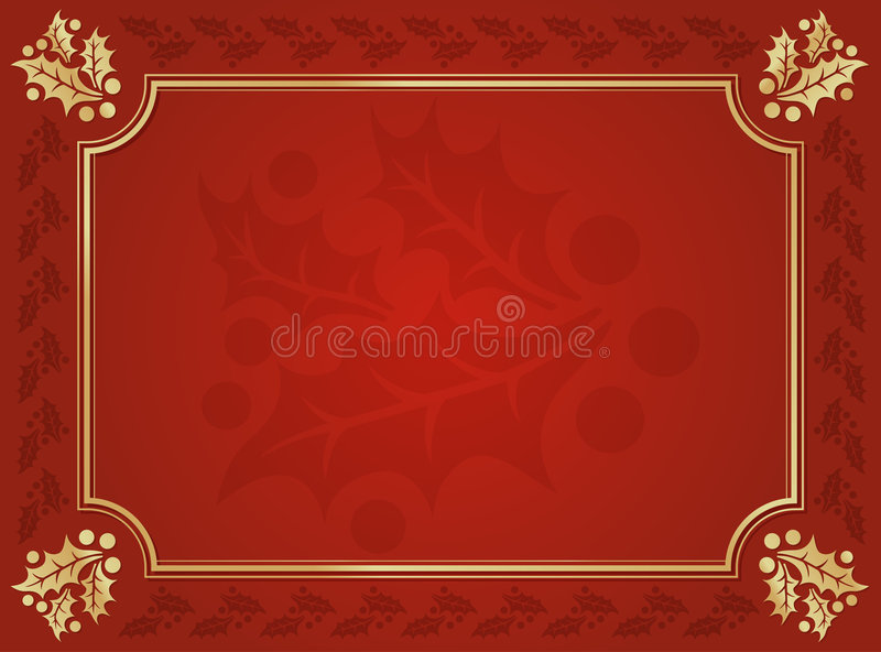 żyłująca tło czerwień złocista uświęcona zdjęcie royalty free