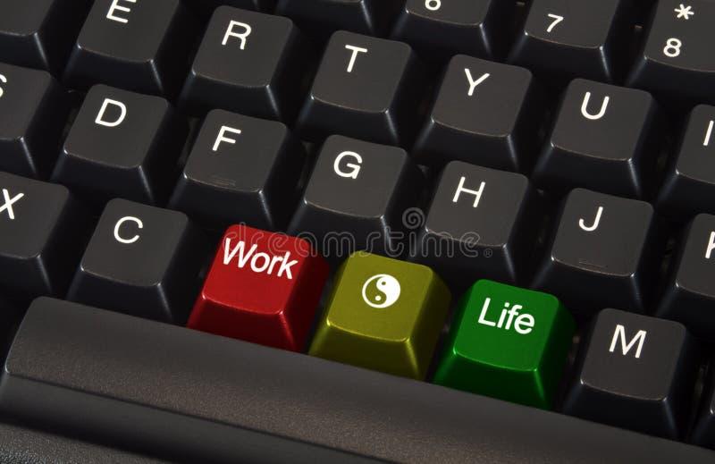 życie balansowa praca zdjęcie stock