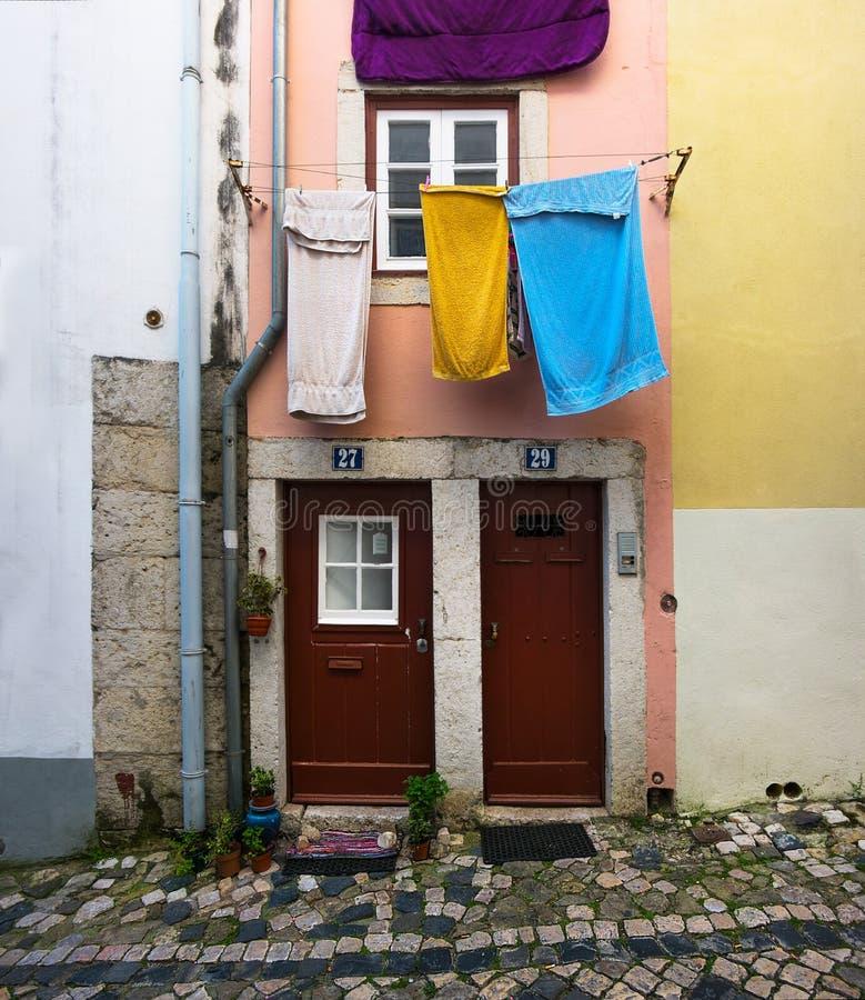 Życie jest proste lisbon Portugalia zdjęcia royalty free
