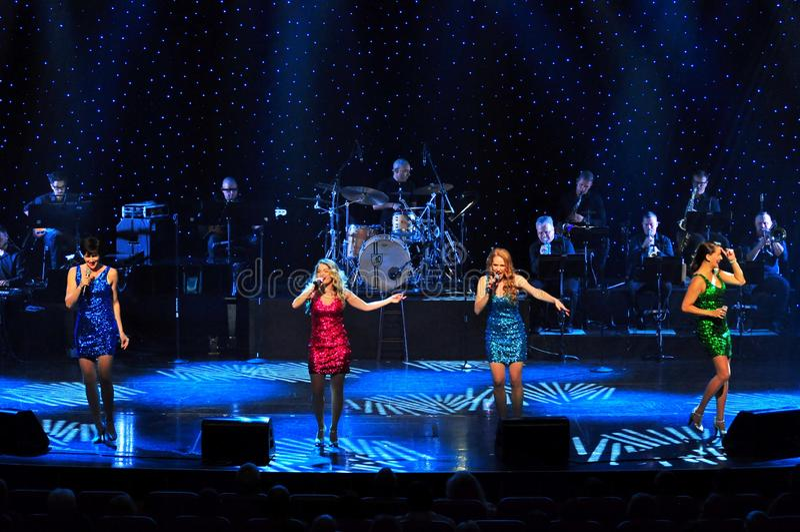 Życie koncert obrazy royalty free