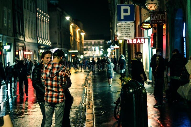 życie noc obraz royalty free