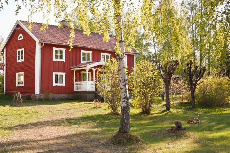życie wiejski Sweden zdjęcia stock