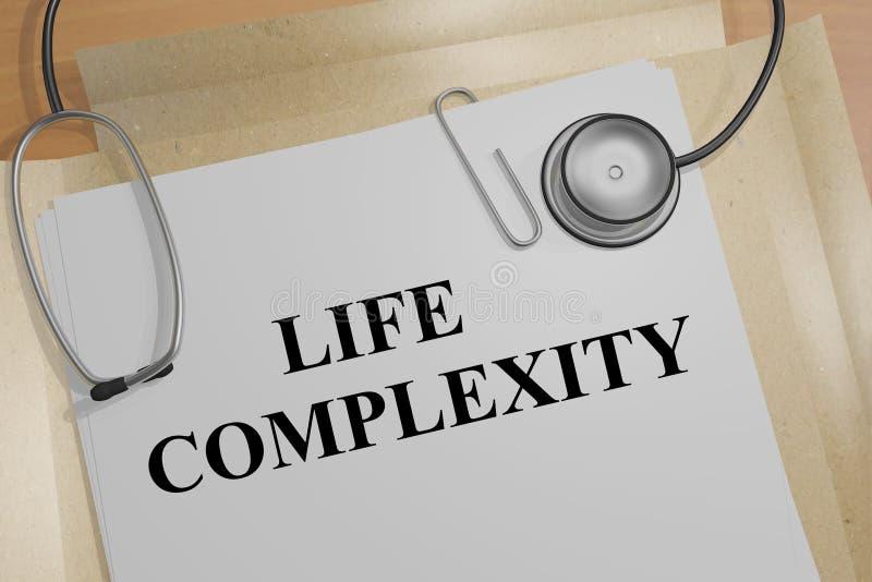 Życie złożoność - medyczny pojęcie zdjęcie stock