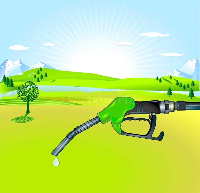 życiorys olej napędowy ilustracji