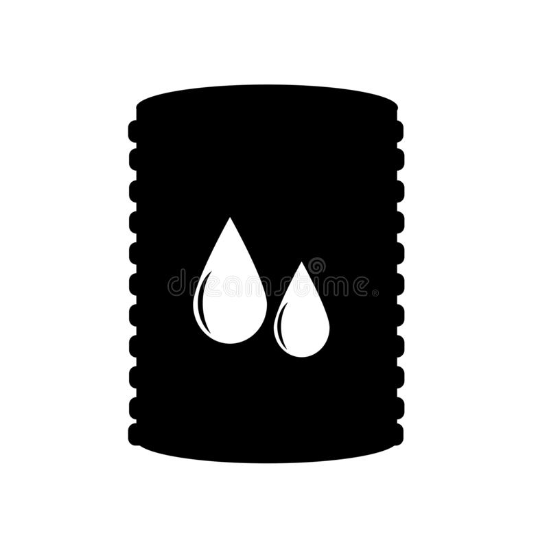 Życiorys paliwowy ikona wektoru znak i symbol odizolowywający na białym tle, Życiorys paliwowy logo pojęcie royalty ilustracja