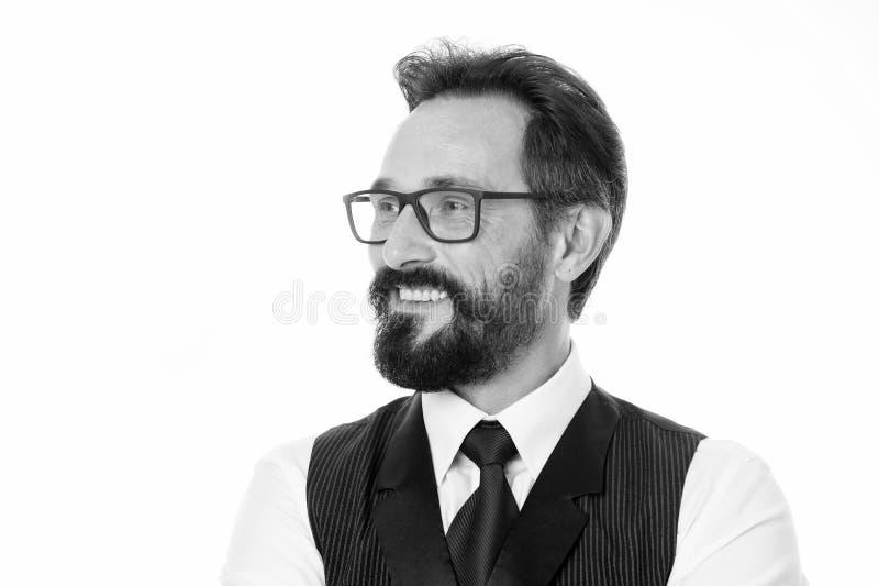 Życiowe historie pomyślny i sławny Biznesowego mężczyzna sukcesu porady Ufny i pomyślny Biznesmena klasyk formalny obraz stock