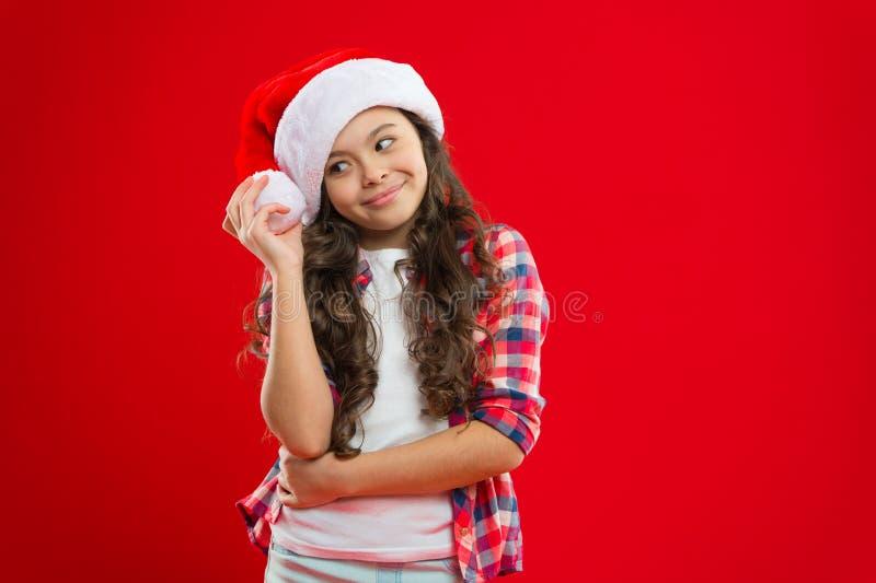 Życzę Teraźniejszość dla Xmas Dzieciństwo Nowego roku przyjęcie Święty Mikołaj dzieciak bożych narodzeń target952_1_ wakacje szcz zdjęcie royalty free