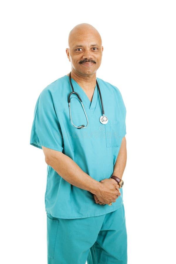 życzliwy lekarz fotografia stock