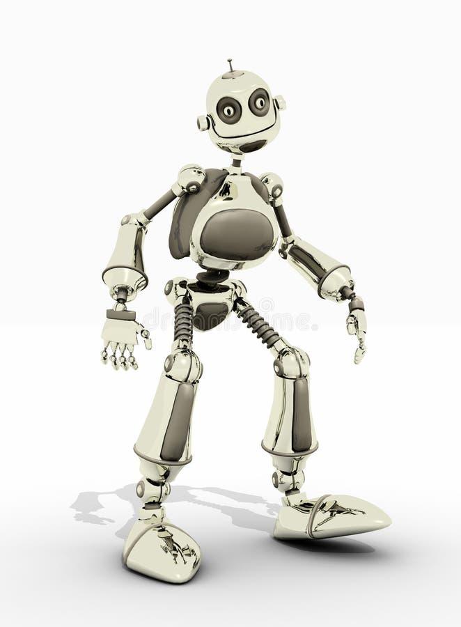 życzliwy robot royalty ilustracja