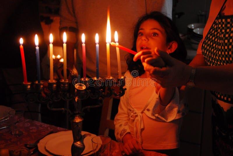 żydowscy Hanukkah wakacje zdjęcie royalty free