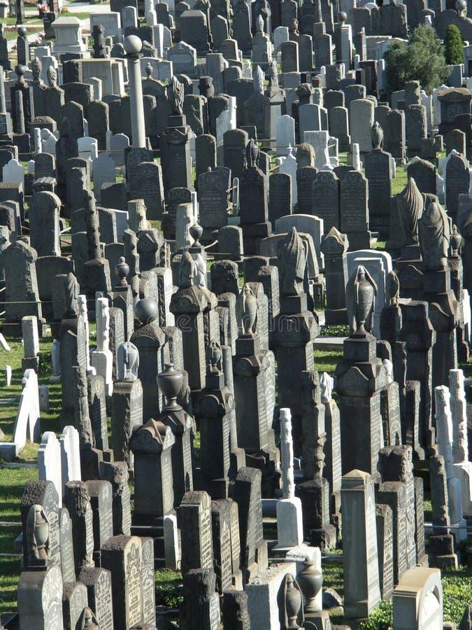 Żydowski cmentarz w Brooklyn obrazy royalty free