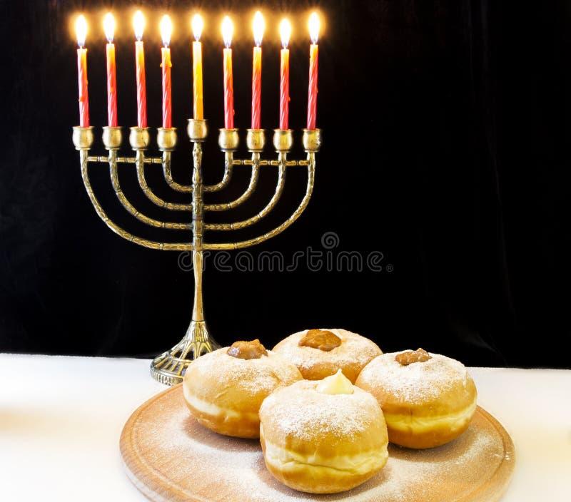 żydowski Hanukkah wakacje obraz royalty free