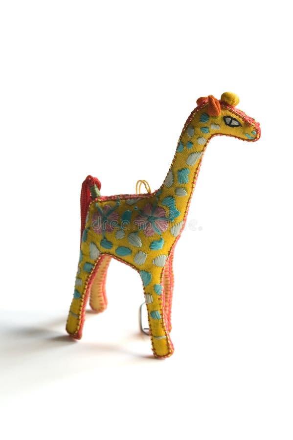 żyrafa ornament obraz royalty free