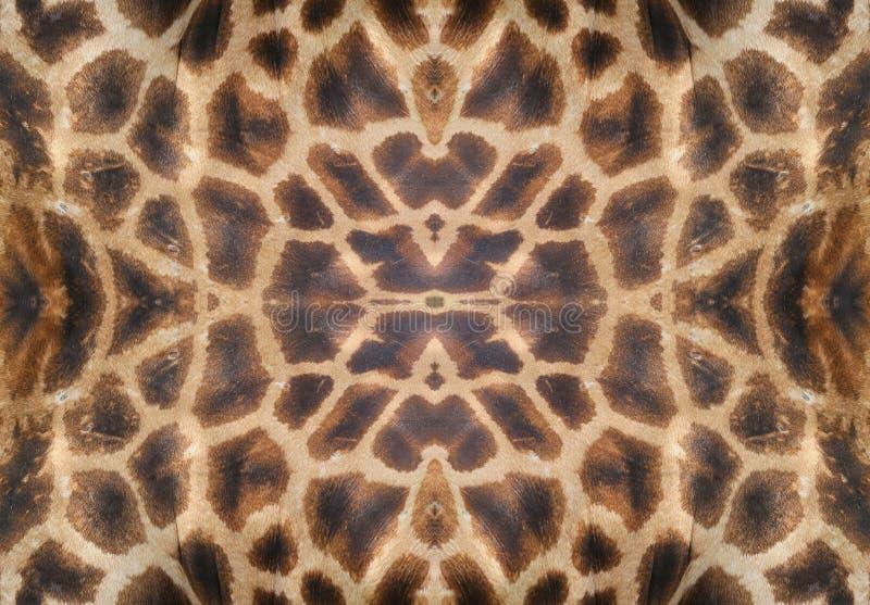 żyrafy skóry obraz stock