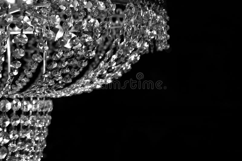 żyrandol szkła fotografia stock