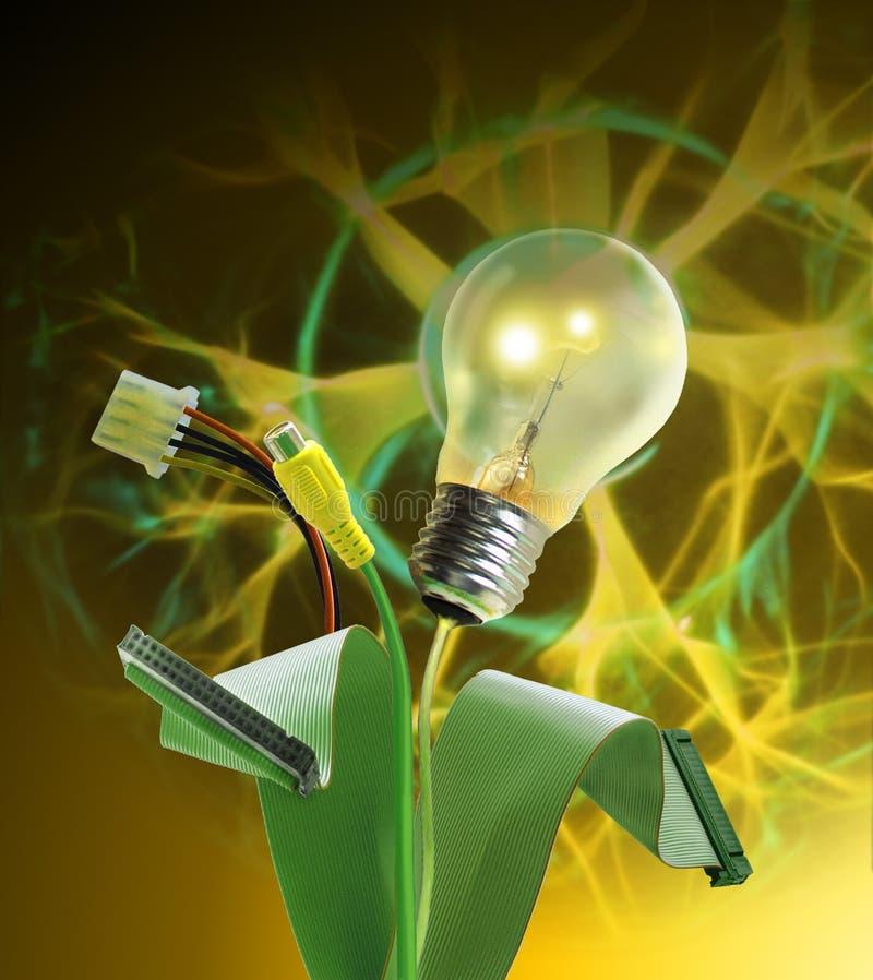 żywa elektryczności energia ilustracja wektor