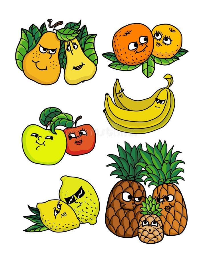 Żywe owoc royalty ilustracja