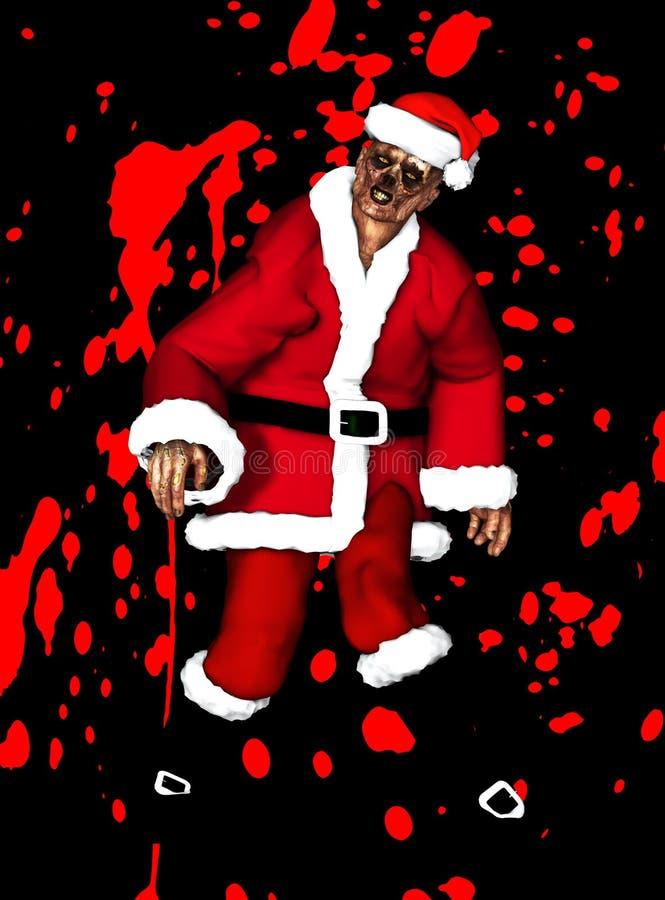 Żywego Trupu Ojca Boże Narodzenia Fotografia Stock