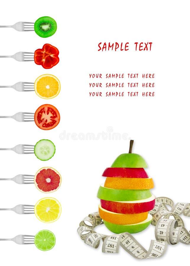 żywienioniowy menu fotografia stock