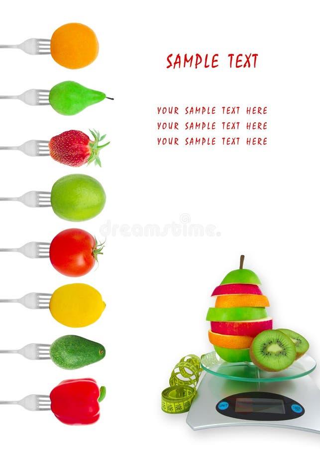 żywienioniowy menu obraz stock