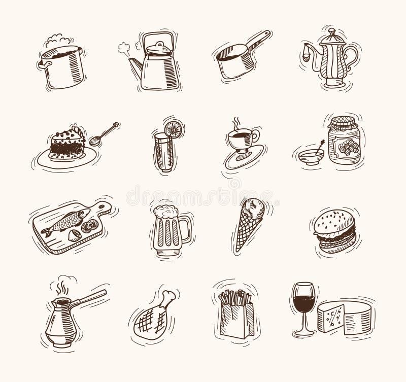 żywność ilustracji