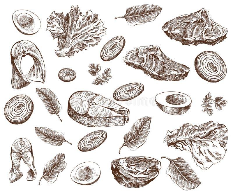 żywność ilustracja wektor